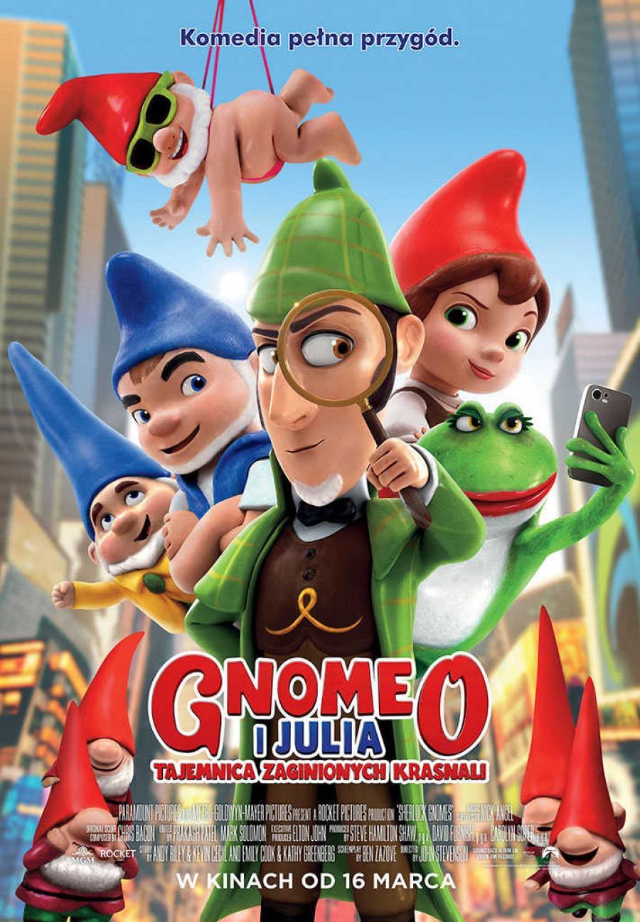 Gnomeo i Julia. Tajemnica zaginionych krasnali (dubbing)