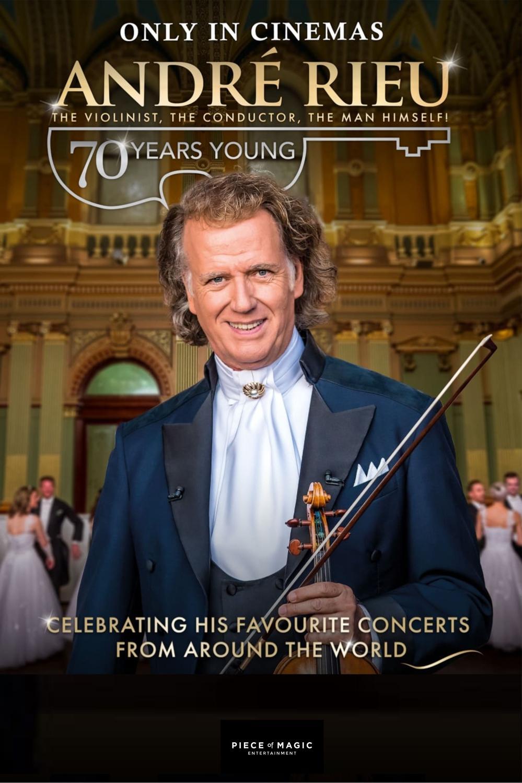 Retransmisja koncertu: Andre Rieu, czyli 70 lat młodości