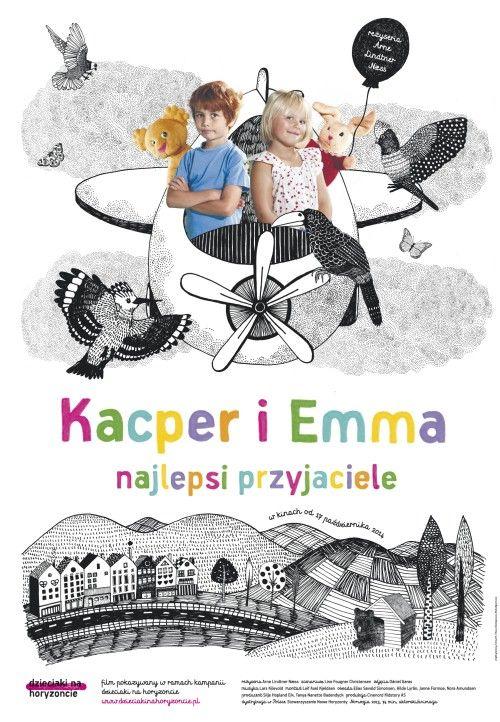 Kacper i Emma - najlepsi przyjaciele (dubbing)