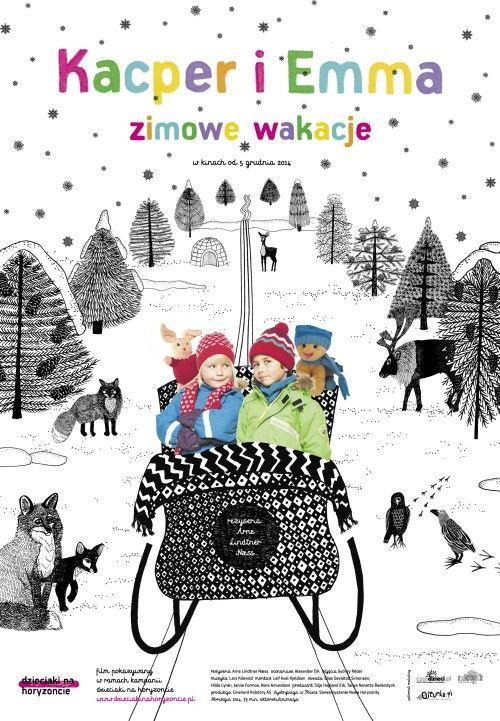Kacper i Emma - zimowe wakacje