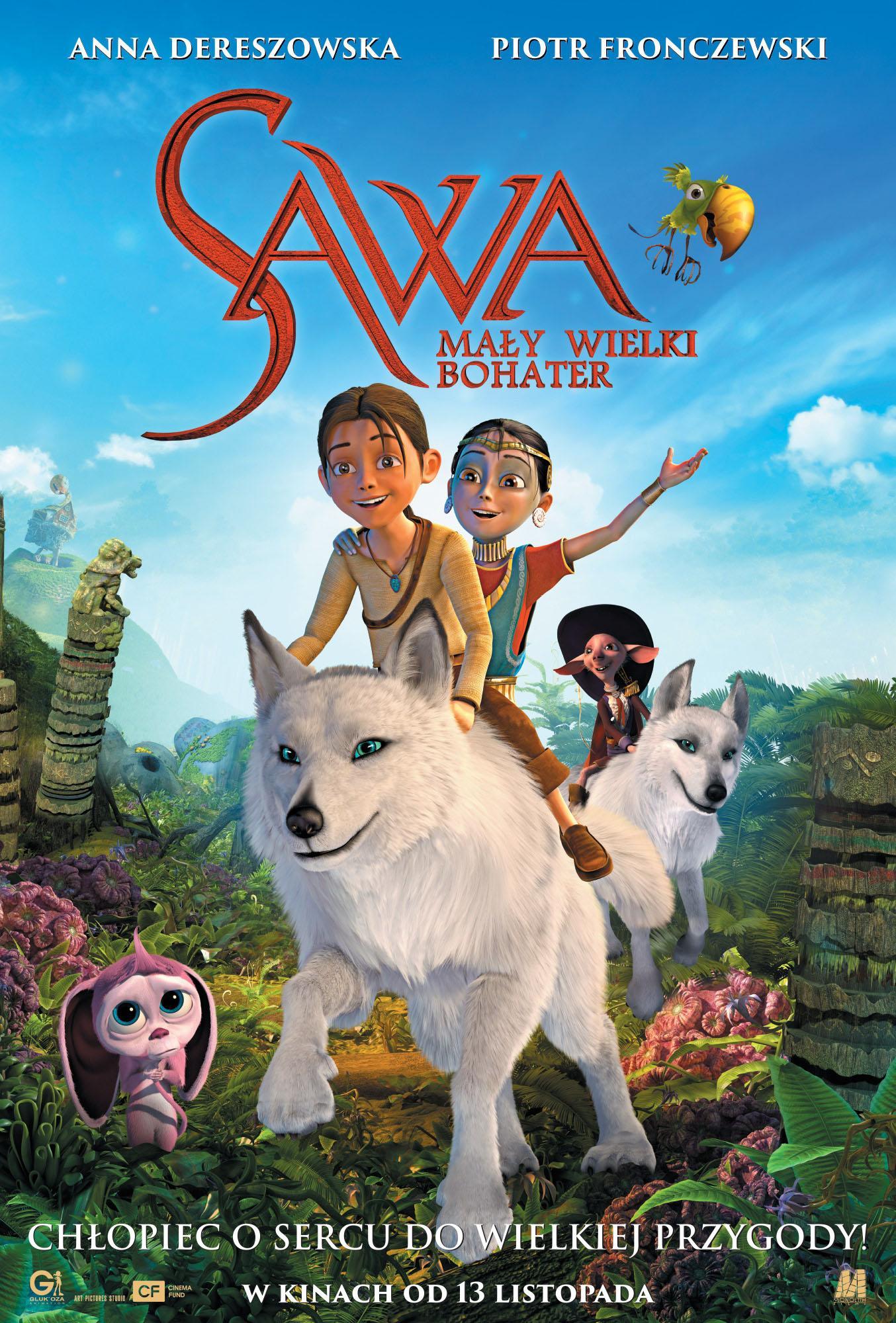 Sawa. Mały wielki bohater (dubbing)