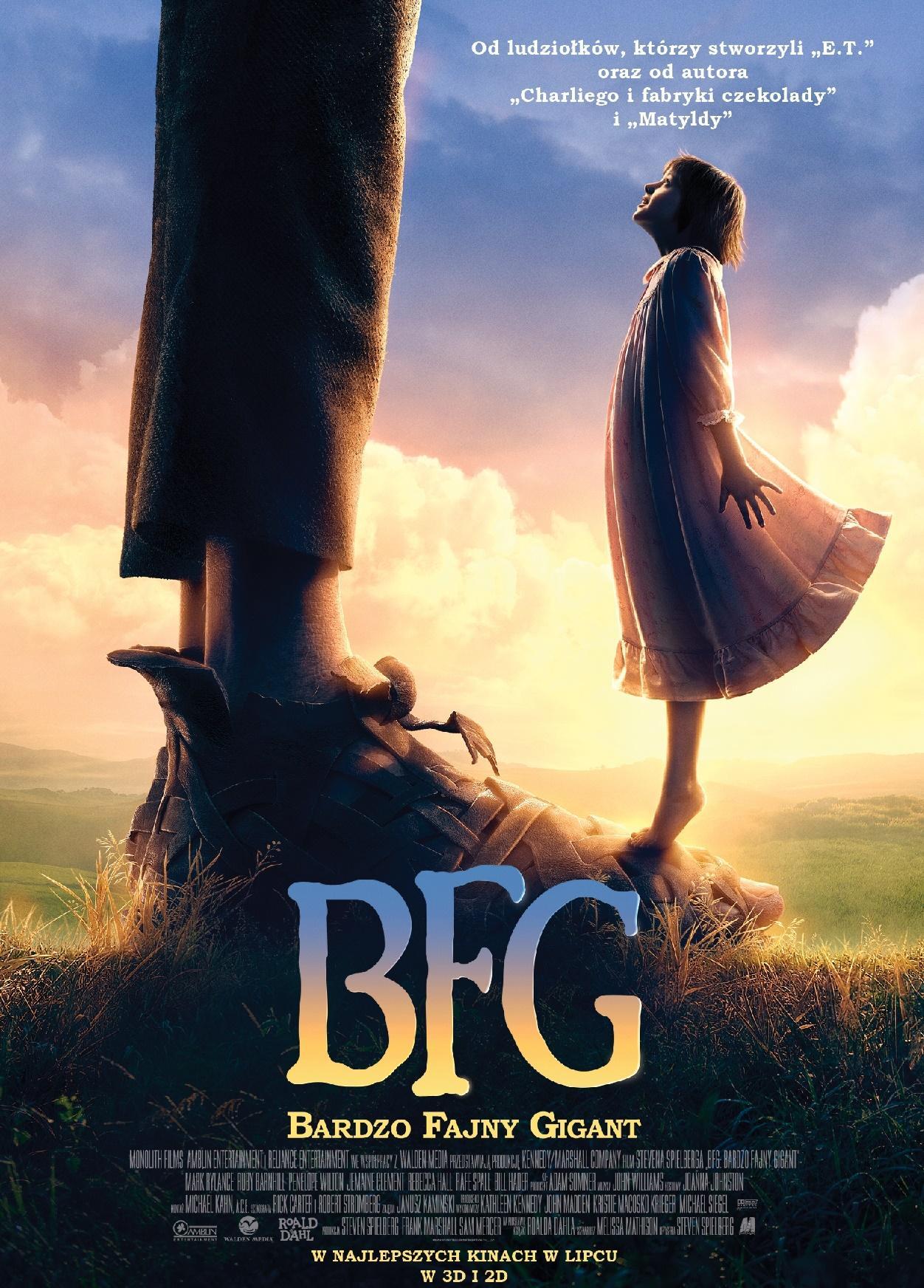 BFG: Bardzo Fajny Gigant (dubbing)