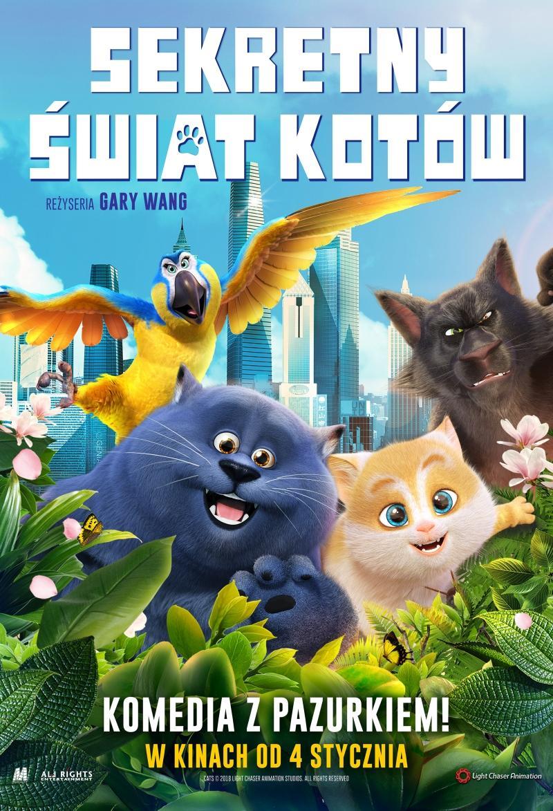 Sekretny świat kotów (dubbing)
