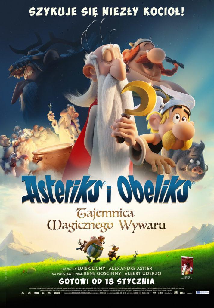 Asteriks i Obeliks. Tajemnica magicznego wywaru (dubbing)
