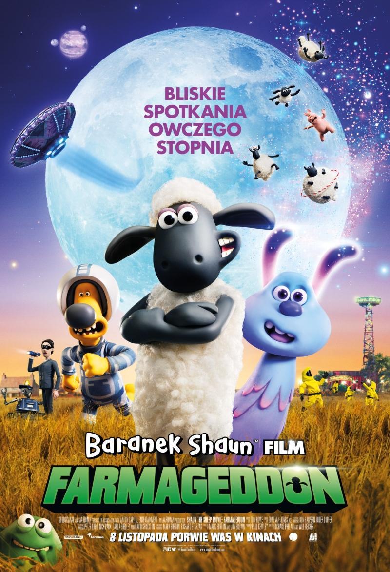 Baranek Shaun Film. Farmageddon (dubbing)