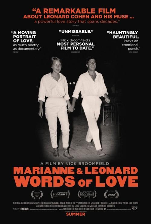 Marianne i Leonard: Słowa Miłości