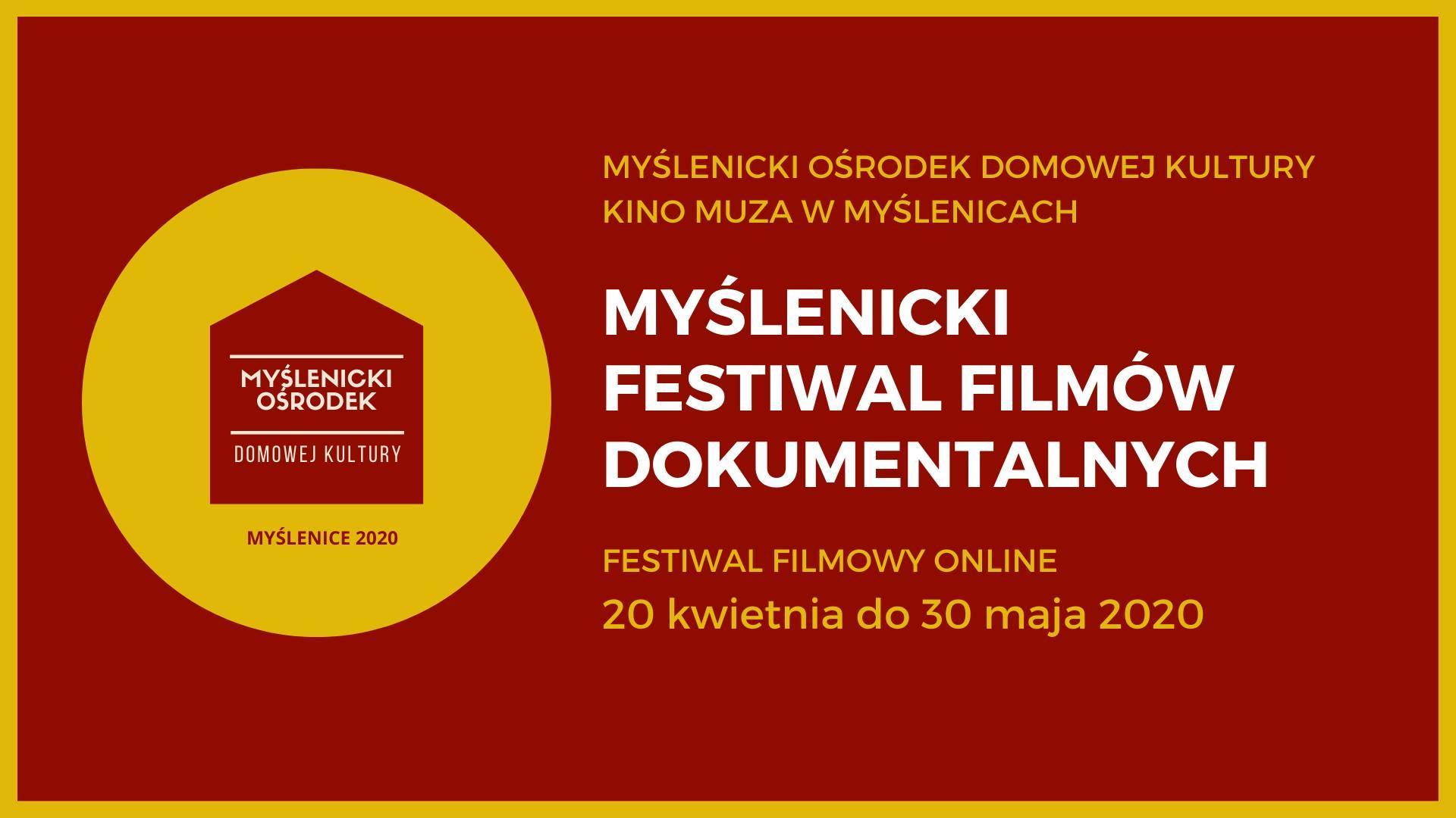 [Online] Myślenicki Festiwal Filmów Dokumentalnych Online