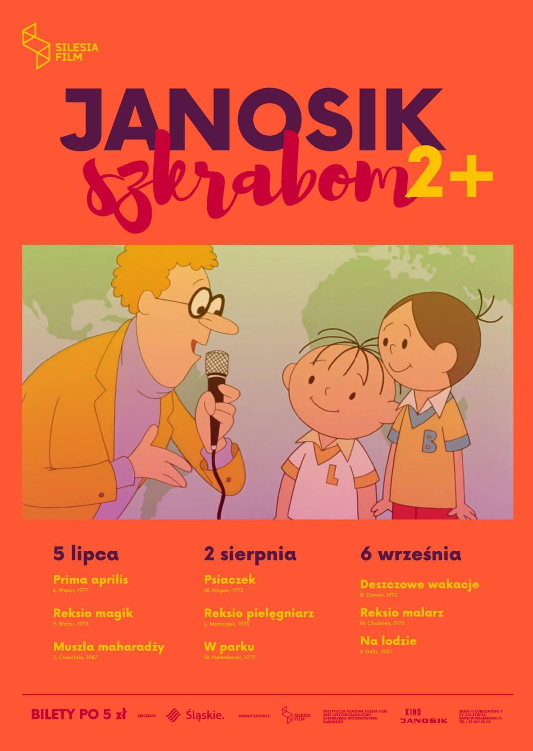 Janosik Szkrabom: Psiaczek, Reksio pielęgniarz, W parku