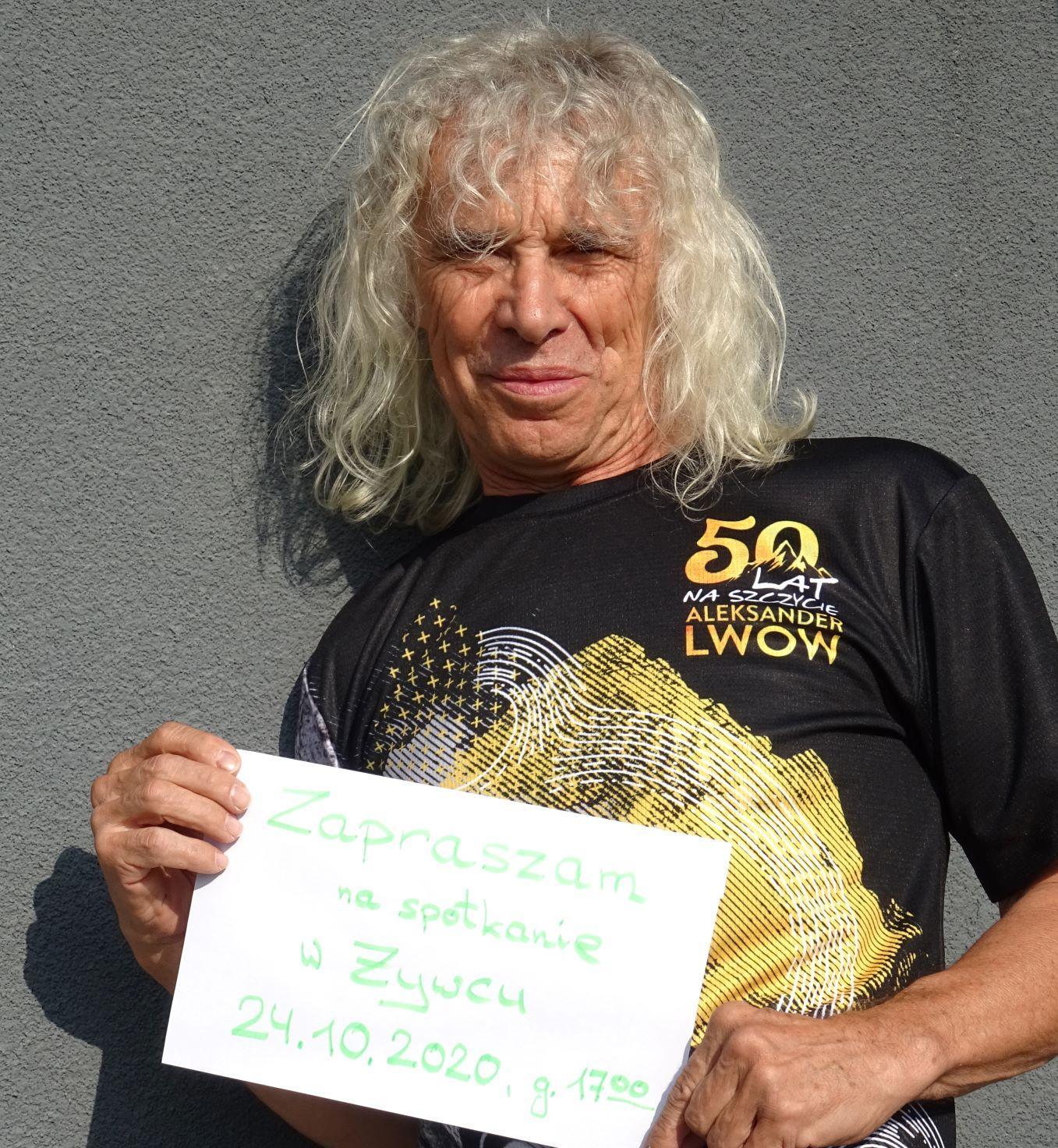 50 lat w górach z Aleksandrem Lwowem