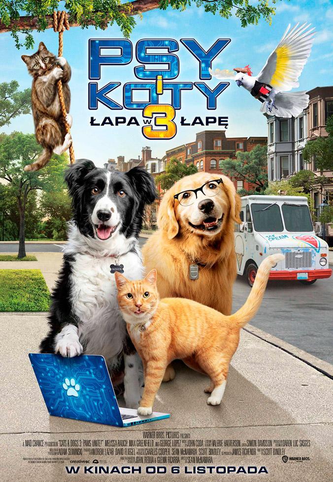 Psy i koty 3: Łapa w łapę (dubbing)