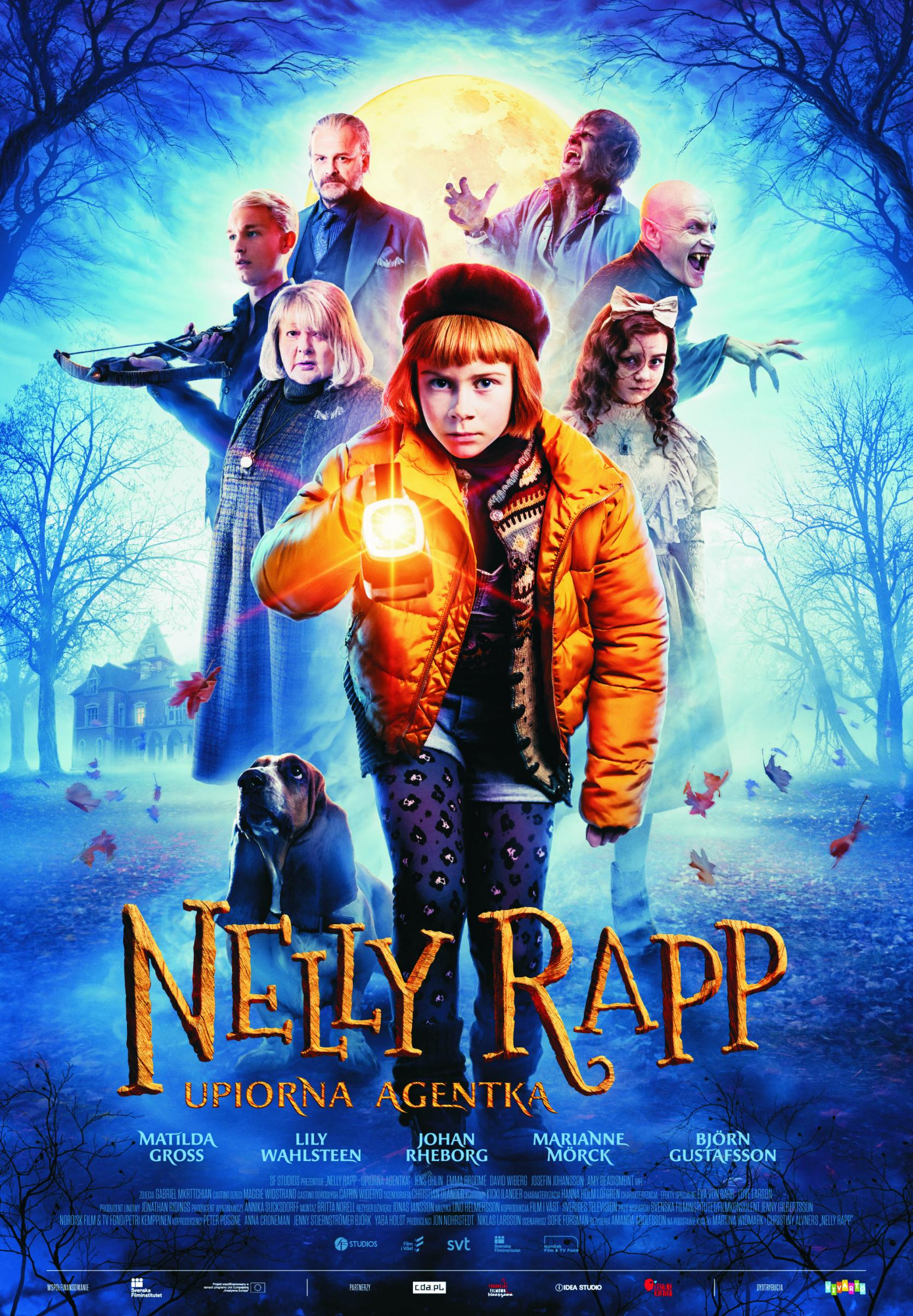 Nelly Rapp - upiorna agentka (dubbing)