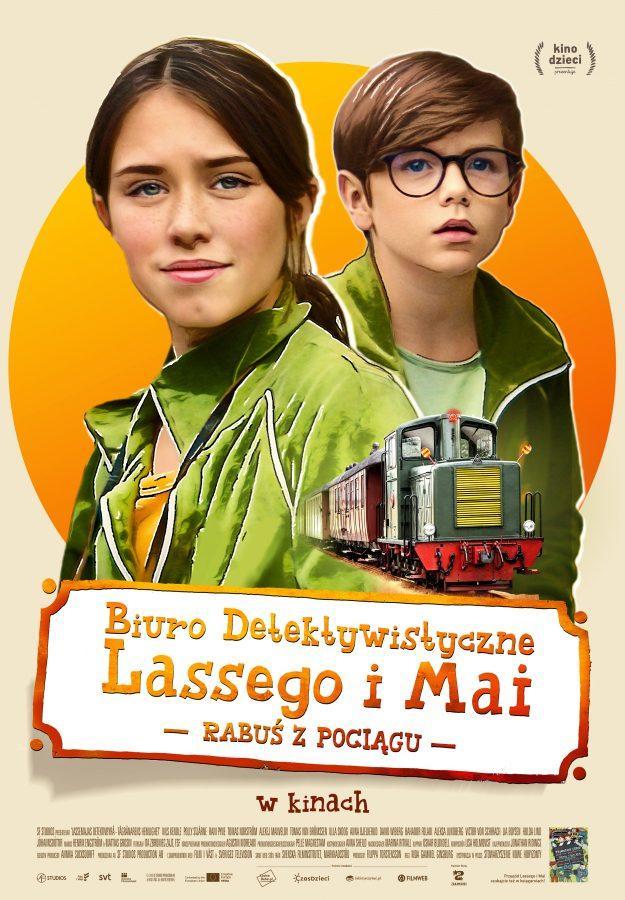 Biuro Detektywistyczne Lassego i Mai. Rabuś z pociągu (dubbing)