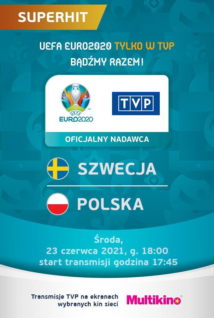 EURO 2020: Polska - Szwecja