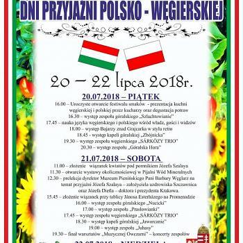 Dni Przyjaźni Polsko Węgierskiej Dzień 1 2018 07 20 14